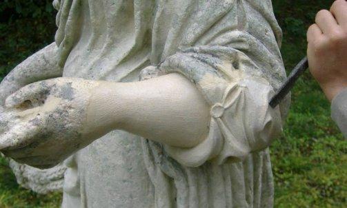 Sculptures et restauration .