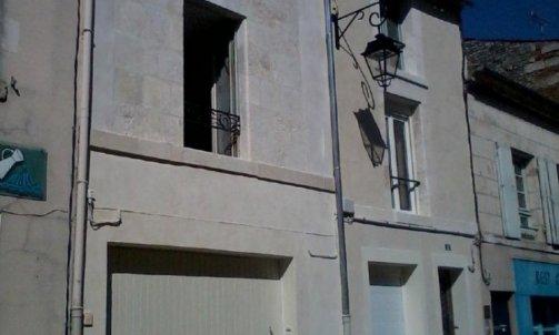 Restauration d'une façade secteur Fontenay le comte